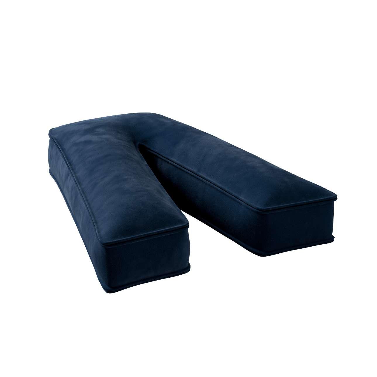 Raidė pagalvėlė V kolekcijoje Posh Velvet, audinys: 704-29