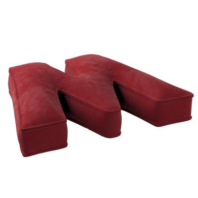 Raidė pagalvėlė W kolekcijoje Posh Velvet, audinys: 704-15