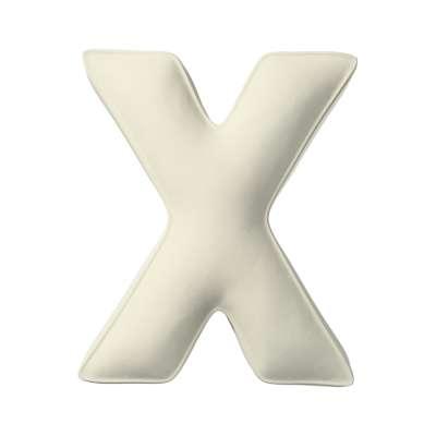 Polštář písmenko X