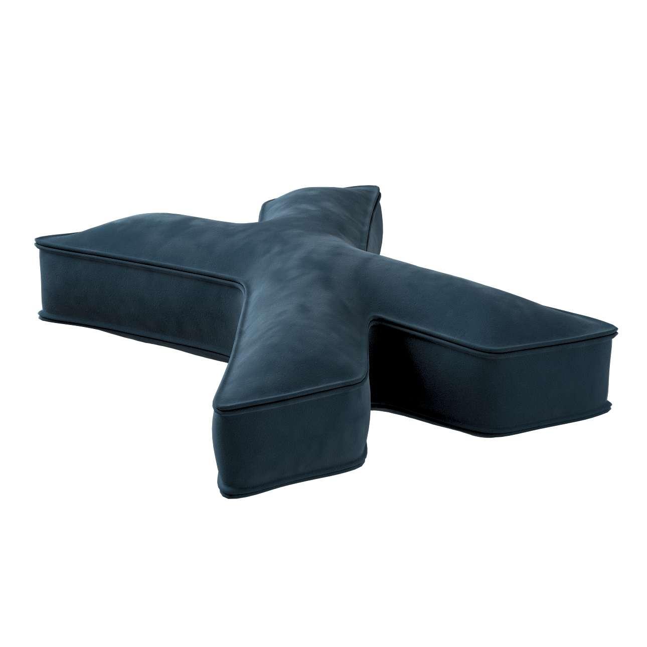 Raidė pagalvėlė X kolekcijoje Posh Velvet, audinys: 704-16