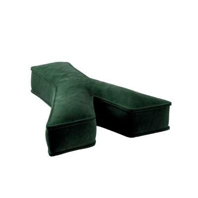 Raidė pagalvėlė Y kolekcijoje Posh Velvet, audinys: 704-13