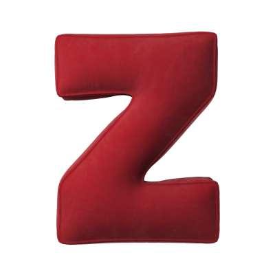 Raidė pagalvėlė Z kolekcijoje Posh Velvet, audinys: 704-15