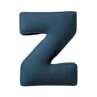 Raidė pagalvėlė Z kolekcijoje Posh Velvet, audinys: 704-16