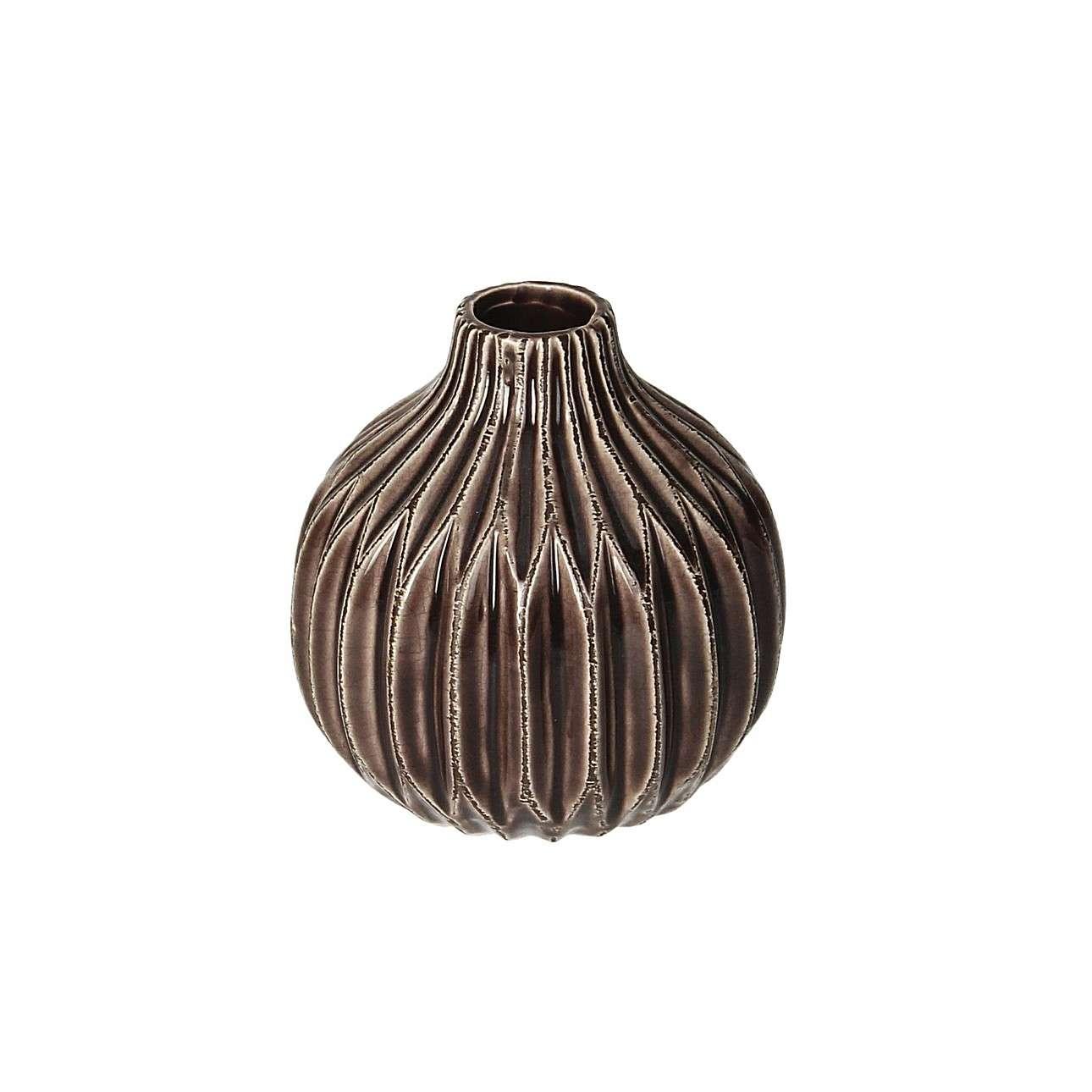 Vase Lonia Burgundy 11 cm