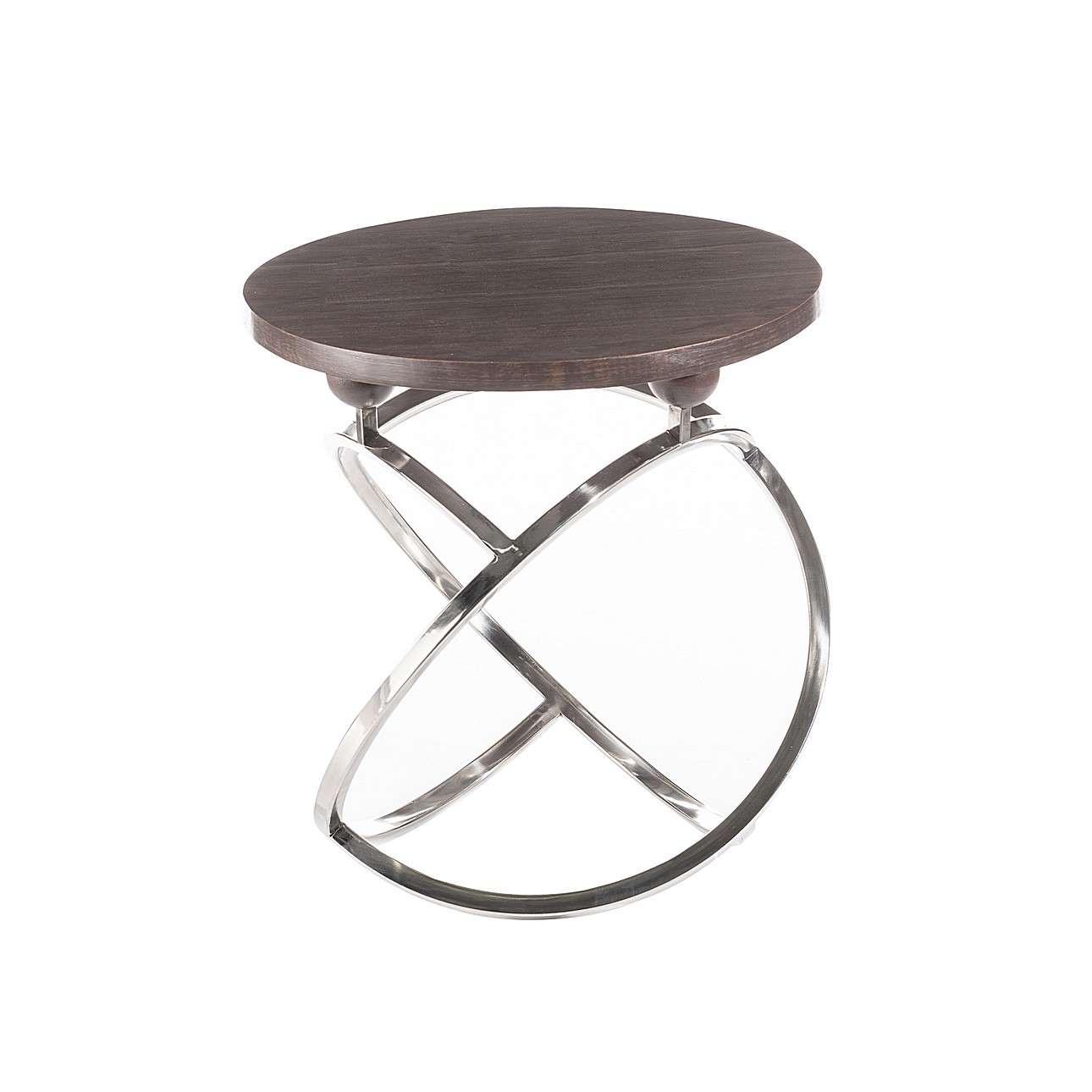 Futuristický odkládací stolek Fusion výška 54cm