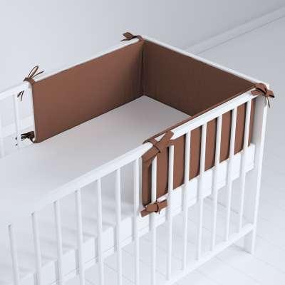 Ochraniacz do łóżeczka 133-09 brązowy Kolekcja Happiness