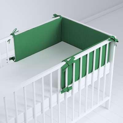 Ochraniacz do łóżeczka 133-18 butelkowa zieleń Kolekcja Happiness