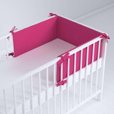 Ochraniacz do łóżeczka 133-60 różowy Kolekcja Happiness