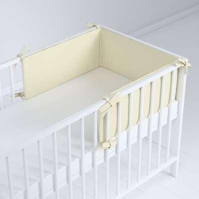 Ochraniacz do łóżeczka 704-10 śmietankowa biel Kolekcja Posh Velvet