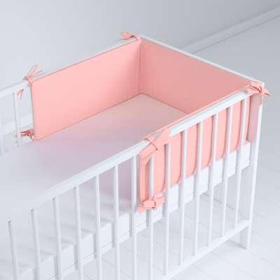 Ochraniacz do łóżeczka 133-39 pastelowy róż Kolekcja Happiness