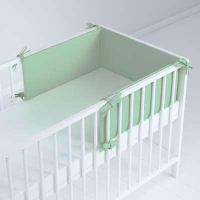 Ochraniacz do łóżeczka 133-61 zieleń eukaliptusa Kolekcja Happiness