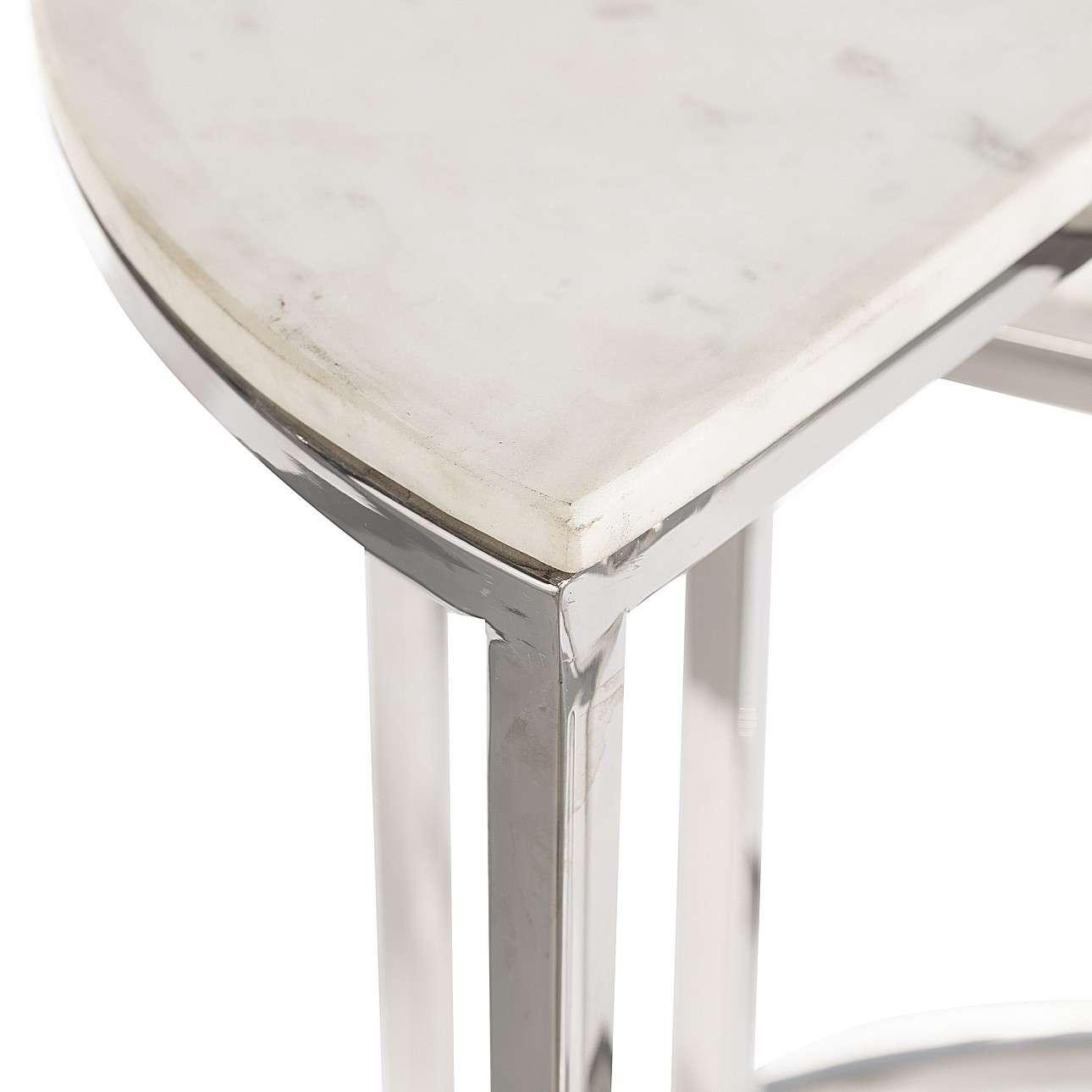 Komplet stolików Marble Moon 2szt.