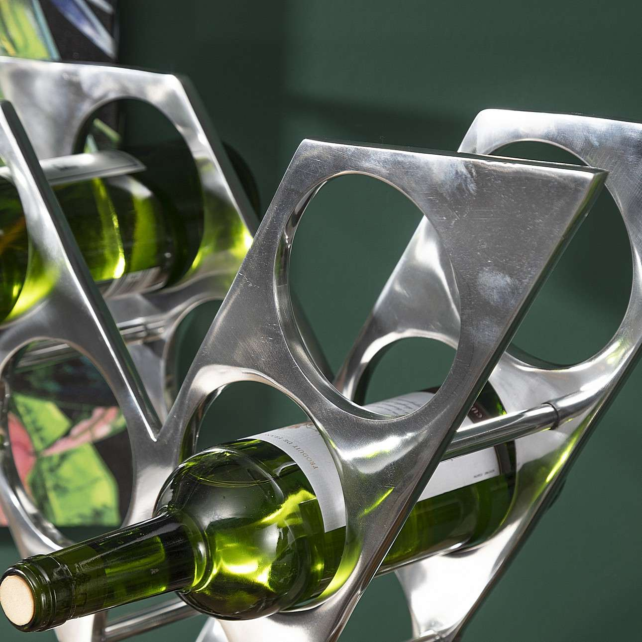 Stojan na víno XRay výška 51cm