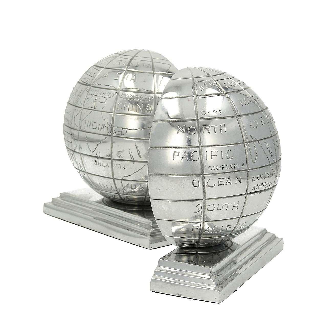 Buchstützen Globe 16x16,5cm