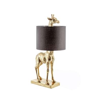 Velké dekorační  svítidlo Gold Giraffe výška 70cm Lampy stolní - Dekoria-home.cz