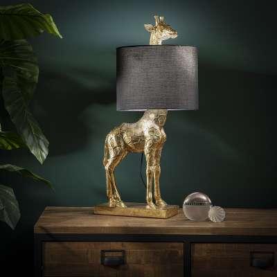 Lampa stołowa Gold Giraffe 70cm