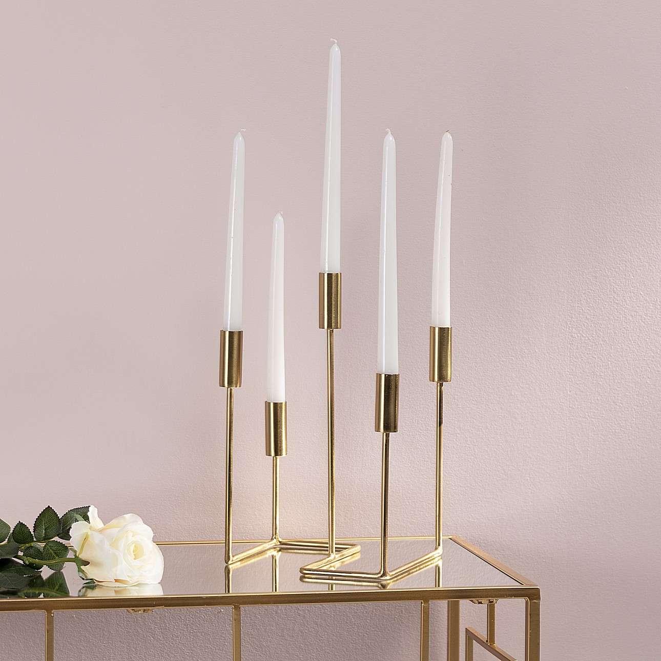 Świecznik Goldie 32cm