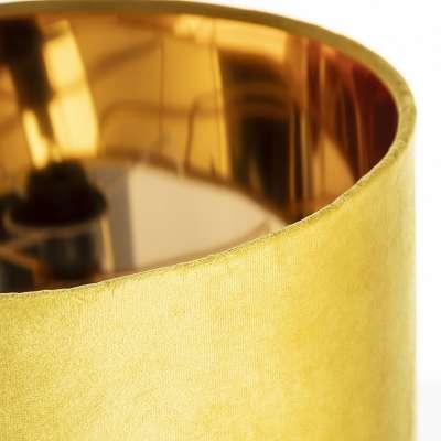 Tischlampe Trixi Gold 37 cm