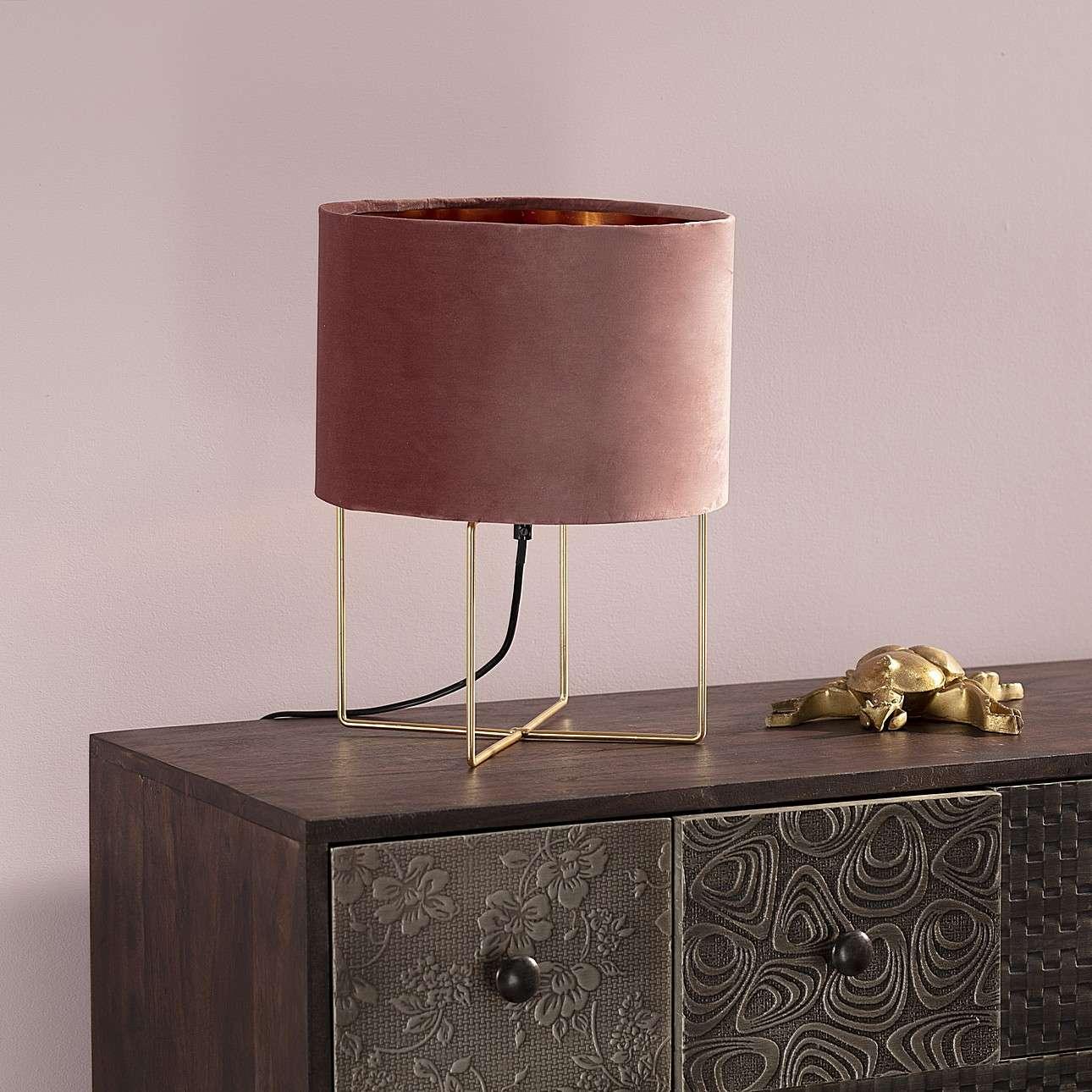 Tischlampe Trixi Pink 37 cm