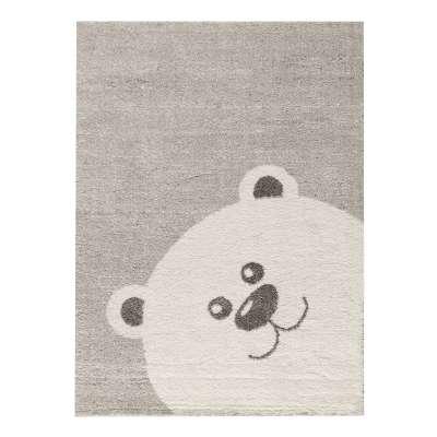 Szőnyeg Teddy Bear szürke 120x170cm Gyerekszoba Babaszoba - Dekoria.hu