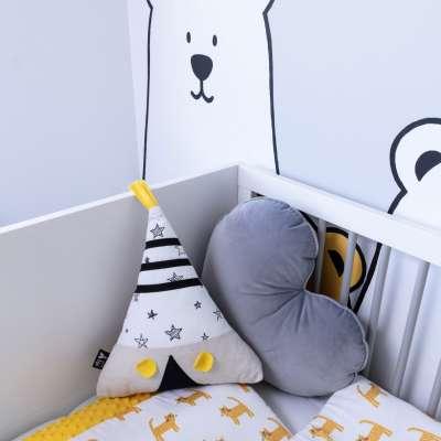 Yellow Tipi pagalvėlė