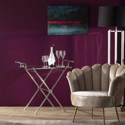 Bartisch Morris Silver Moderne Möbel - Dekoria.de
