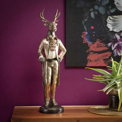 Dekoracja Sir Deer 54cm