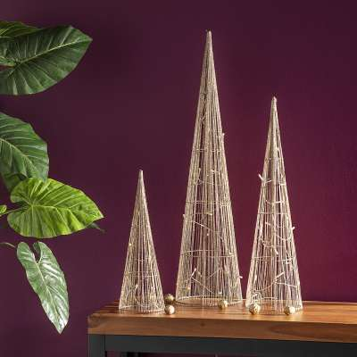 Weihnachtsdekoration Christmas LED 80cm
