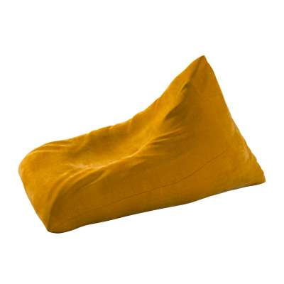 Pouf-couch 704-23 mustard Collection Posh Velvet