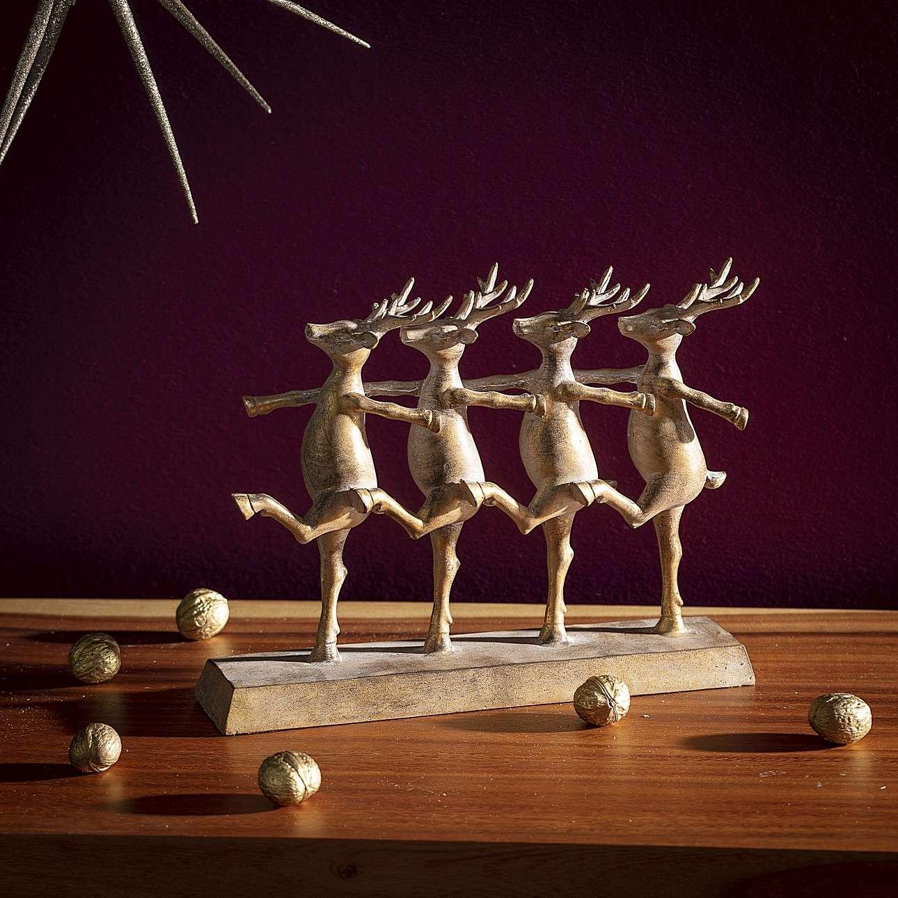 Dekorace Reindeers výška 23,5cm