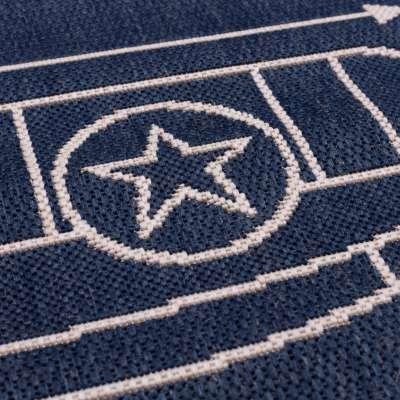 Aeroplane blue rug 120x170 cm