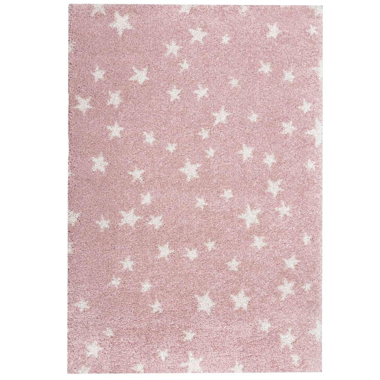 Koberec Candy Stars rose 120x170cm