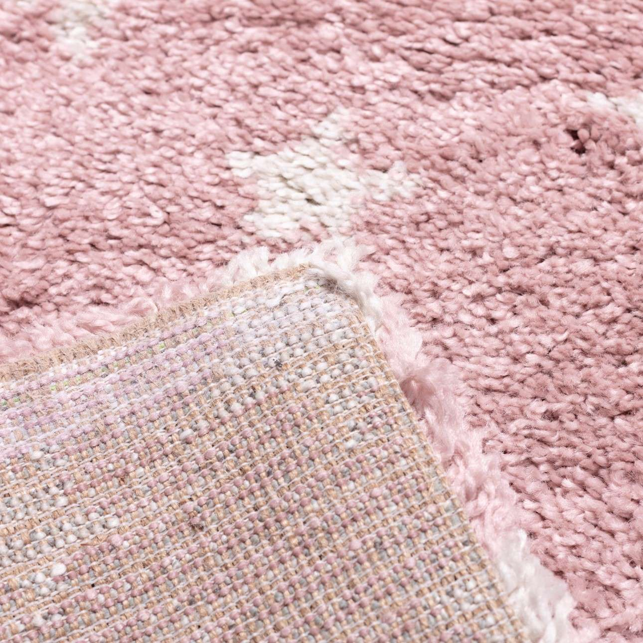 Candy Stars rose rug 120x170 cm
