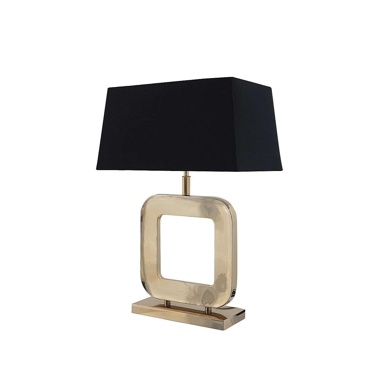Vyšší stolní lampa Esperia Gold výška 65cm