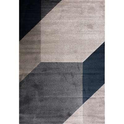 Teppich Sevilla Oxford Blue & Frost Grey 200x290cm Teppiche - Dekoria.de