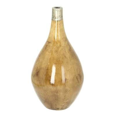Vase Glossy Wood 51cm