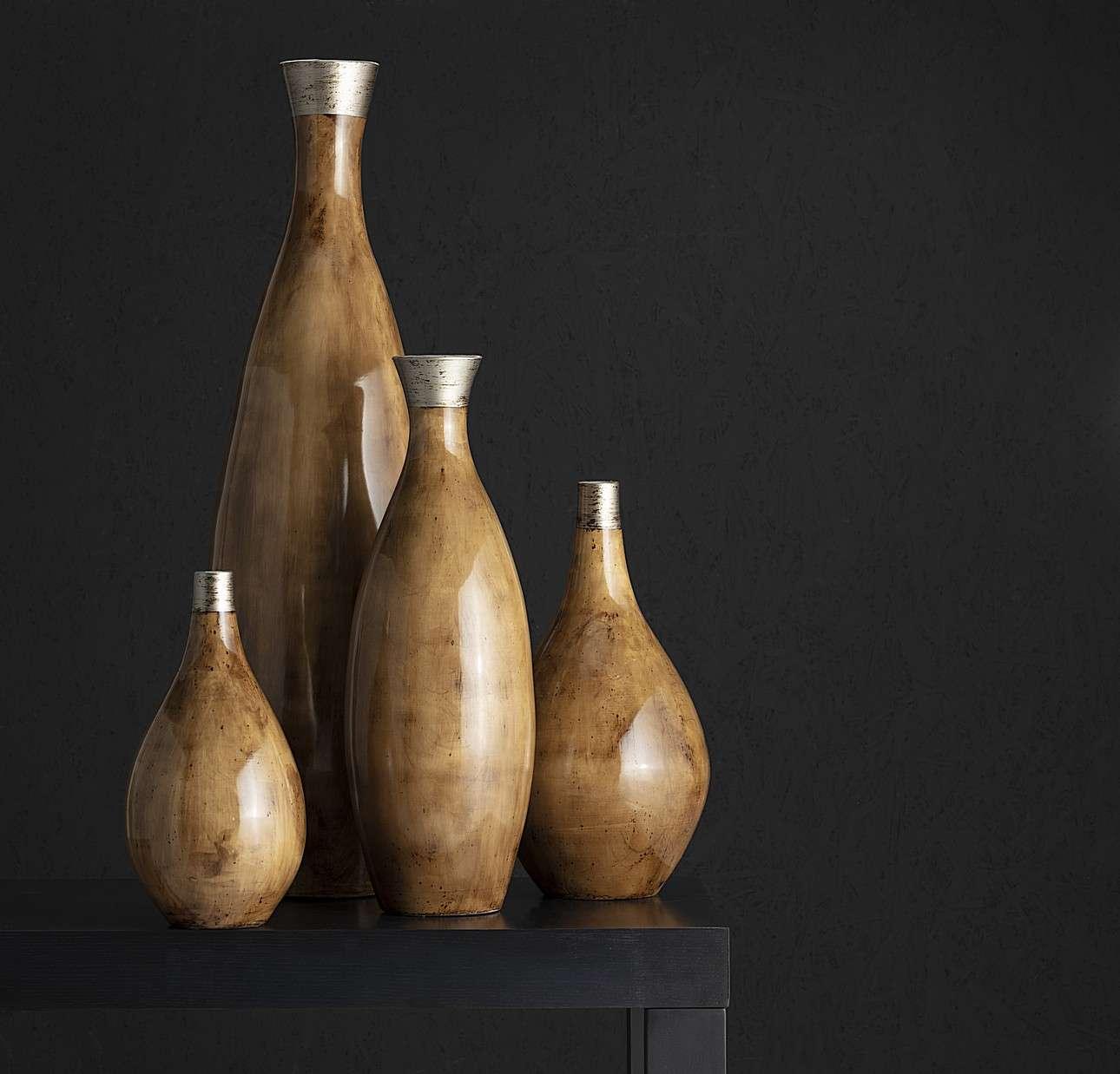 Wazon Glossy Wood 51cm