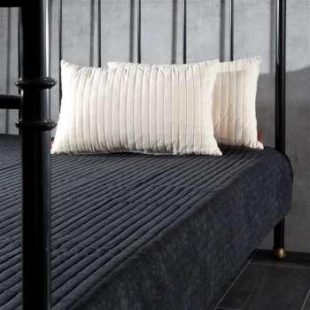 Komplet Black&Cream narzuta i poduszki