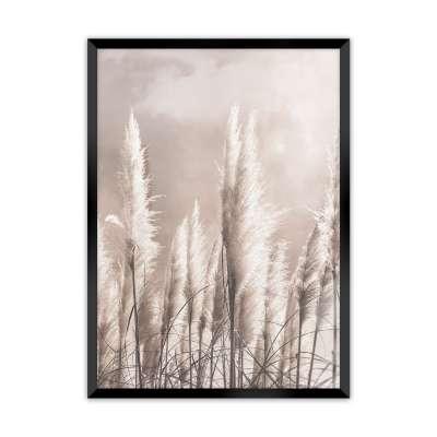 Wandbild Grass 30x40cm