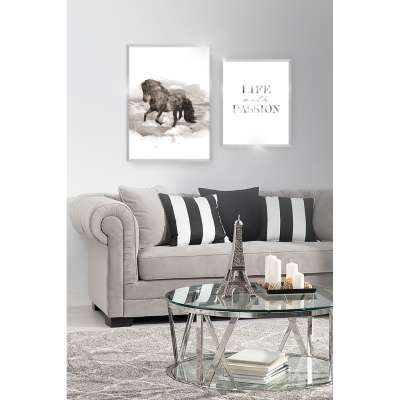 Framed print Passion Silver Prints - Dekoria.co.uk