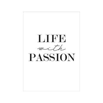 Plakat Passion