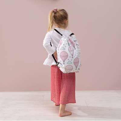 Kiddy bag in collection Magic Collection, fabric: 500-05