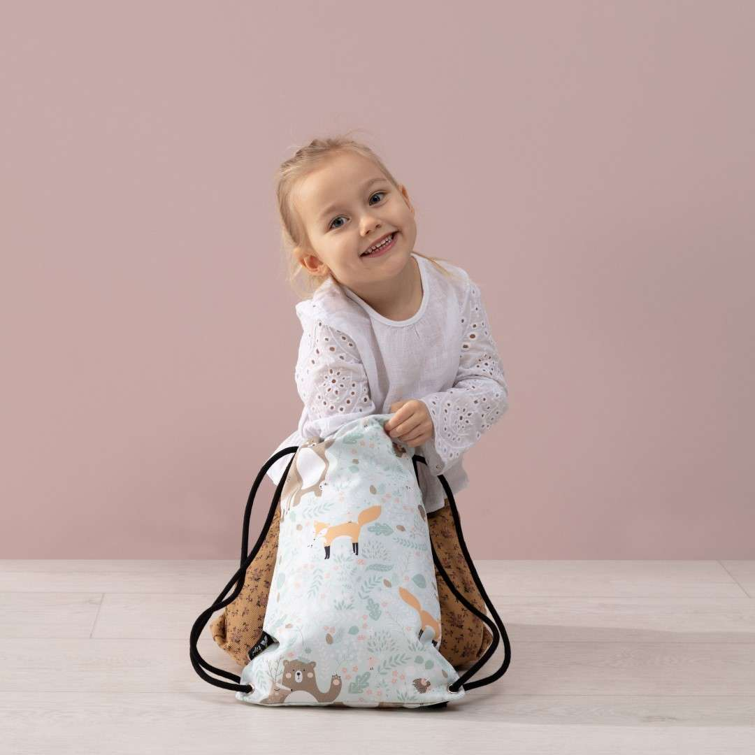 Rucksackbeutel Kiddy von der Kollektion Magic Collection, Stoff: 500-08