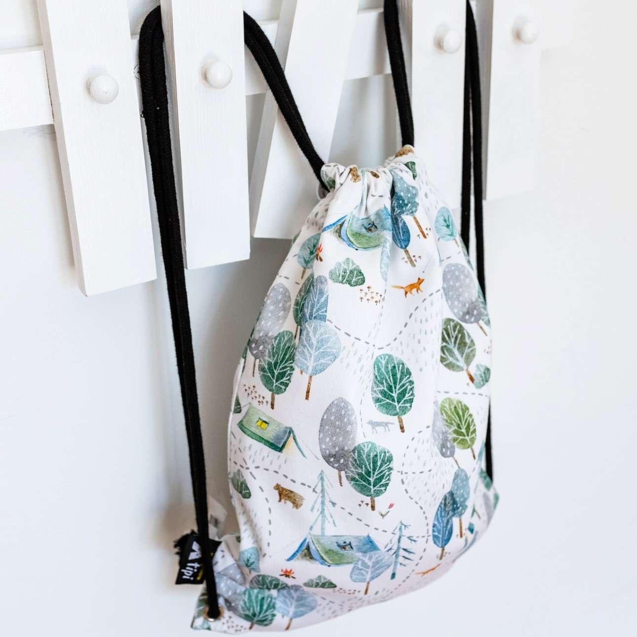 Worek plecak Kiddy w kolekcji Magic Collection, tkanina: 500-05