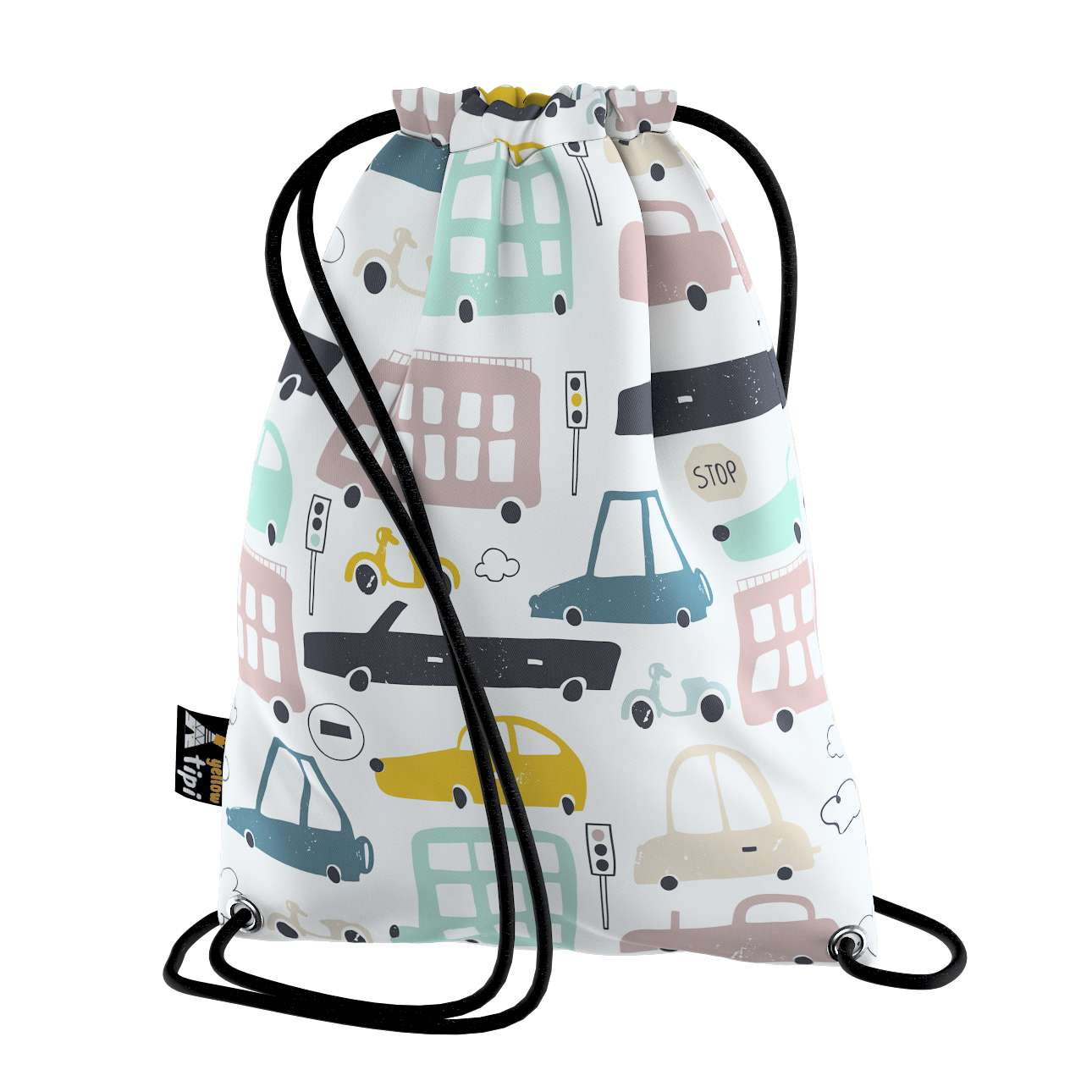 Kiddy bag in collection Magic Collection, fabric: 500-02