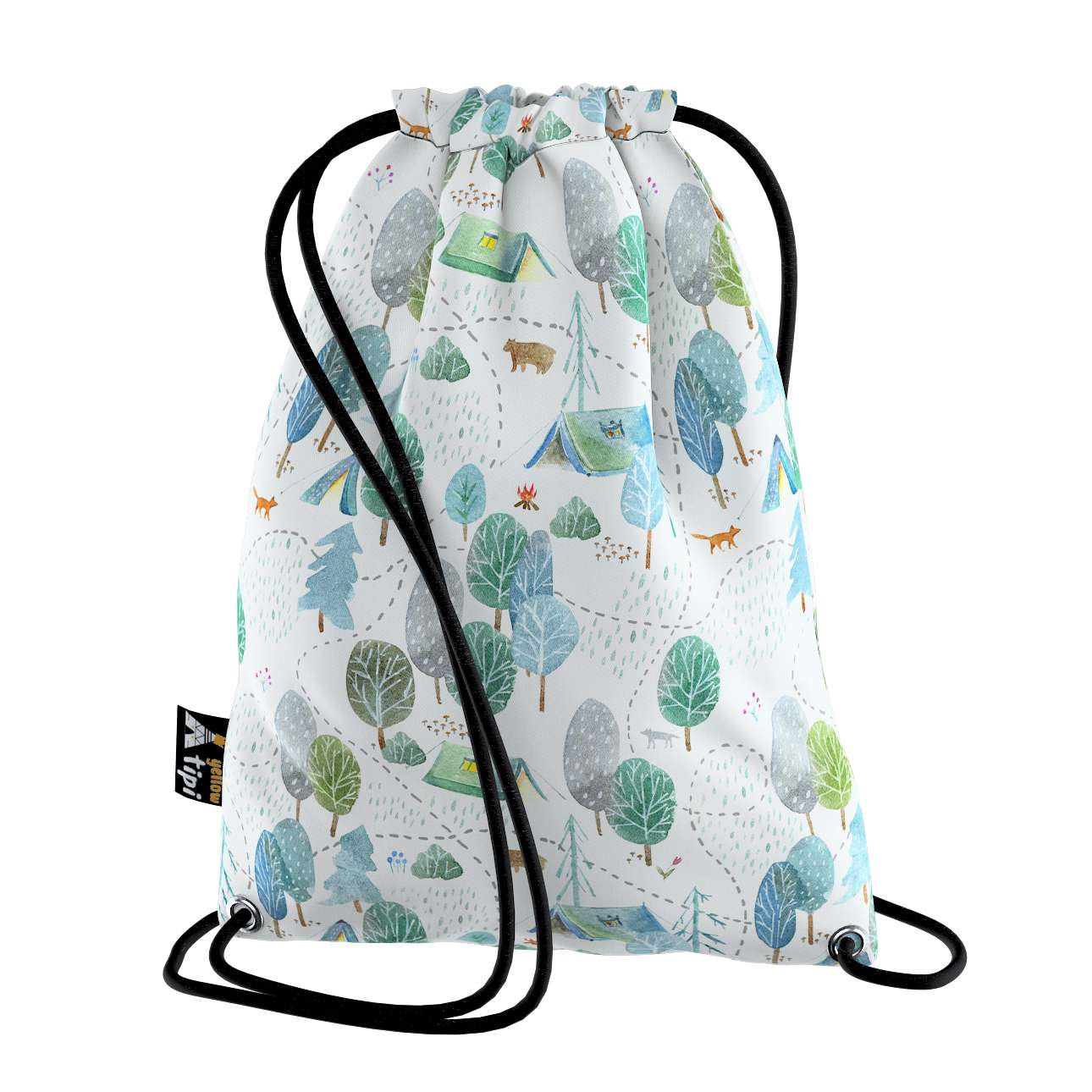 Kiddy bag in collection Magic Collection, fabric: 500-21