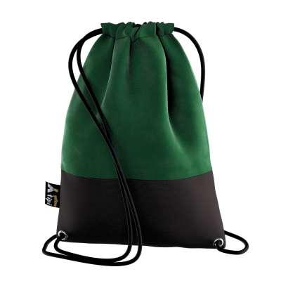 Kiddy Velvet backpack 704-13 forest green Collection Posh Velvet
