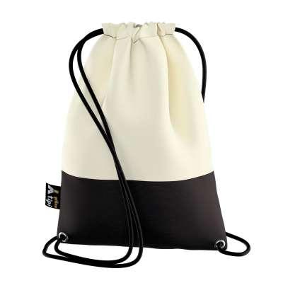 Worek plecak Kiddy Velvet 704-10 śmietankowa biel Kolekcja Posh Velvet