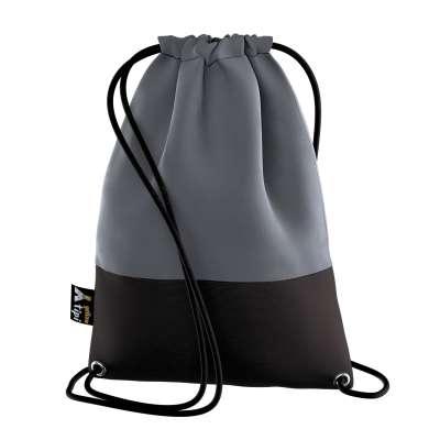 Kiddy Velvet backpack 704-12 graphite grey Collection Posh Velvet