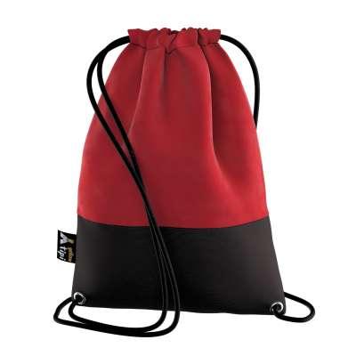 Kiddy Velvet backpack 704-15 cherry red Collection Posh Velvet